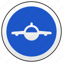 airbus, drive, road, sign icon