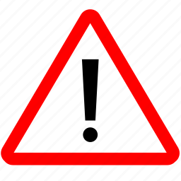 attention, look, road, sign, warning icon