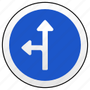 arrow, left, road, ways icon