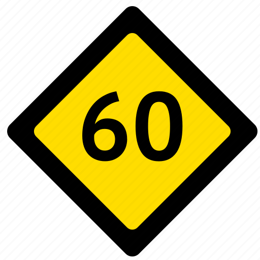 limit, road, sign, speed icon