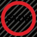 attention, danger, road, sign, stop
