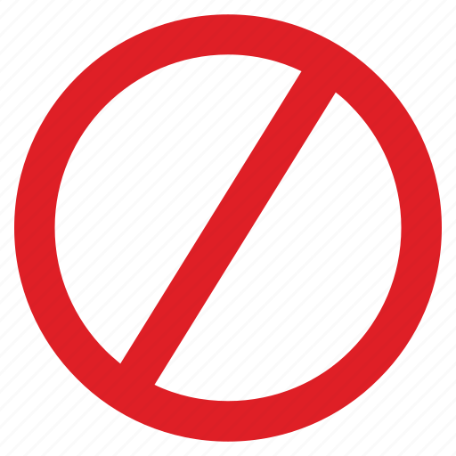 entry, forbidden, no, road, sign, stop icon