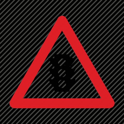 lights, road, sign, traffic, transport icon