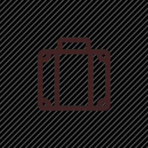 bag, baggage, case, luggage, suitcase, travel icon