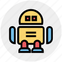 artificial, automate, bot, intelligence, toys icon