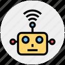 auto, cyborg, device, face, future, helper, programming