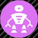 assistant, astronaut, cosmos, exoskeleton, geek, human robot, suit