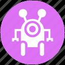 assistant, astronaut, cosmos, exoskeleton, geek, human robot, suit icon