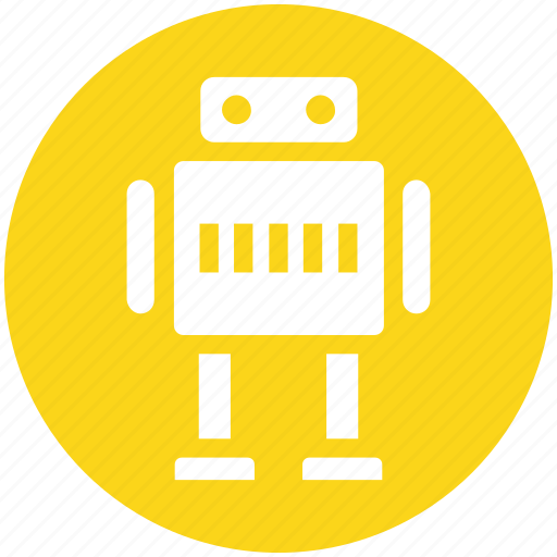 Science, space, friendly, robot, cute icon