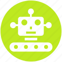 auto, cyborg, device, face, future, helper, programming icon