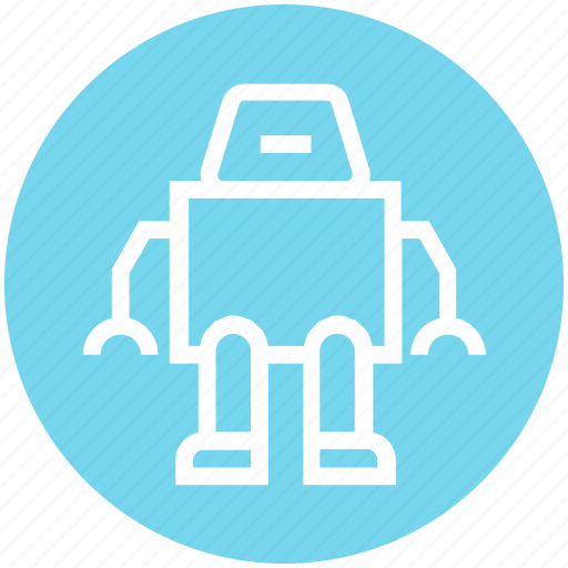 Assistant, astronaut, cosmos, exoskeleton, geek, human robot, suit icon - Download on Iconfinder