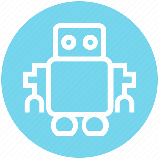 Cute, friendly, robot, science, space icon - Download on Iconfinder