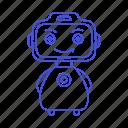 ai, alexa, modern, omate, robot, yumi icon