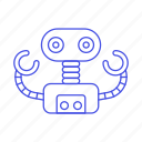 ai, modern, robot icon