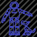 ai, aibo, asimo, modern, robot, robots icon