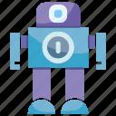 android, cartoon, cute, cyborg, humanoid, mascot, robot icon