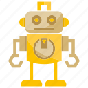 android, cartoon, cute, cyborg, humanoid, mascot, robot