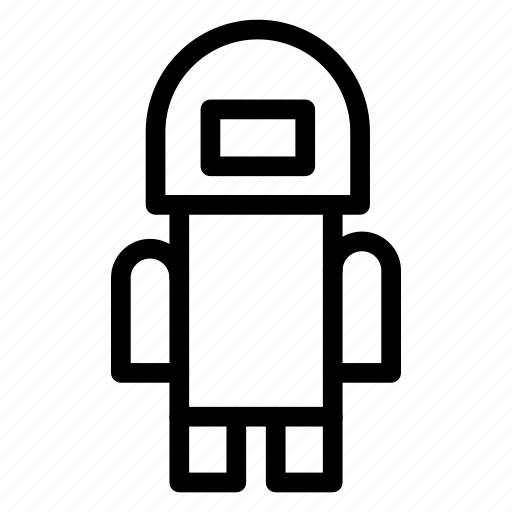 android, robot, science, technology icon
