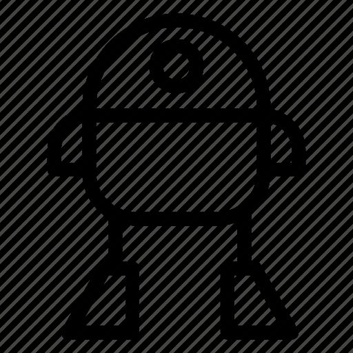 automatic, machince, robot, technology icon