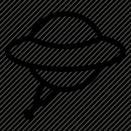 alienship, satellite, spaceship, transport icon