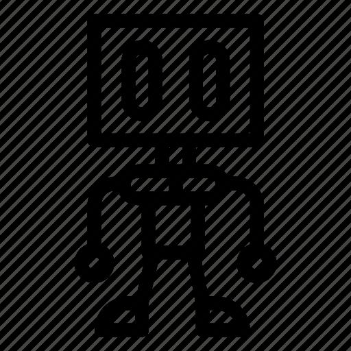 machine, programming, robotic, technology icon