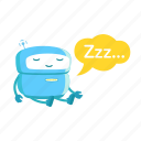 robot, sleep, hibernation