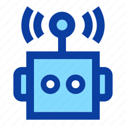 artificial intelligence, machine, robot, robot head, robot toy, robotic, technology icon