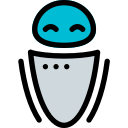 avatar, profile, robot, user icon