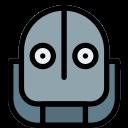 avatar, profile, robot, user icon