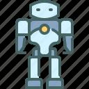 humanoid, robot, technology, futuristic, machine