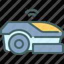 robot, mower, technology, robotic