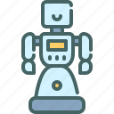 robot, social, assistant, technology, humanoid
