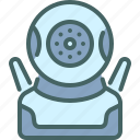 cctv, robot, security, technology, camera