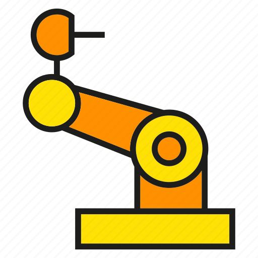 Arm, engineering, manufacturing, mechanical, production, robot, robotics icon - Download on Iconfinder