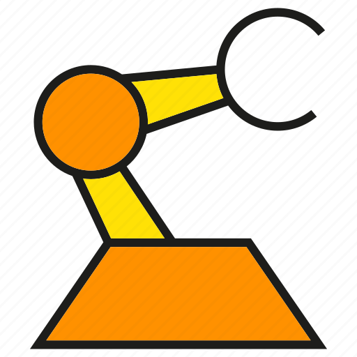 Arm, engineering, machine, manufacturing, production, robot, robotics icon - Download on Iconfinder