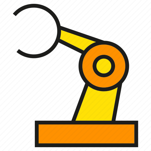 Engineering, industry, manufacturing, mechanical, production, robot, robotics icon - Download on Iconfinder