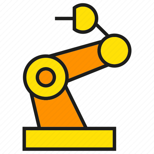 engineering, industry, machine, manufacturing, production, robot, robotics icon