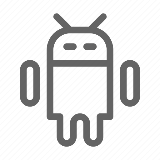 android, operating, robot, system icon