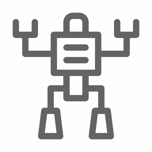 robot, robotic, toy icon