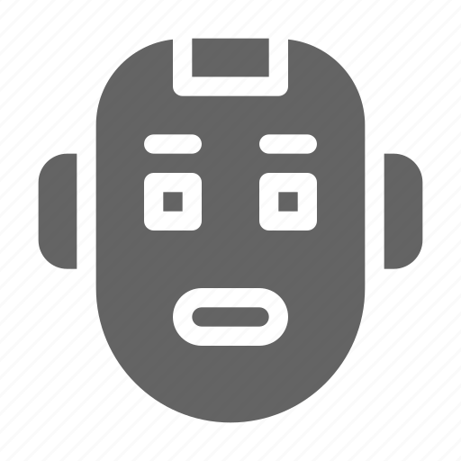 Cyborg, face, robot icon - Download on Iconfinder