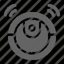 domotic, machien, robot, vacuum icon