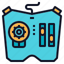 controller, game, refine, remote icon