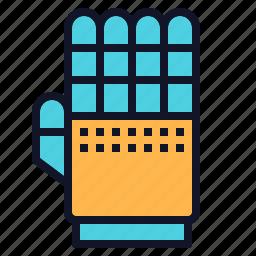 glove, hand, mechanic, robot, robotics icon