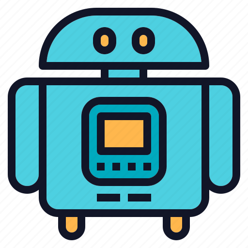 Assistant, cute, robot, robotics, technology icon - Download on Iconfinder