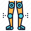 disabled, hero, leg, power, robot, robotics icon