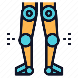 disabled, hero, leg, power, robot, robotics icon