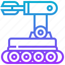 artificial, engineering, intelligence, mobile, robot, robotic, technology icon