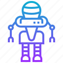 intelligence, robot, artificial, engineering, robotic, prototype, technology icon