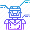 analysis, design, engineering, robot, robotic, technology icon