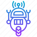 artificial, engineering, intelligence, robot, robotic, technology icon